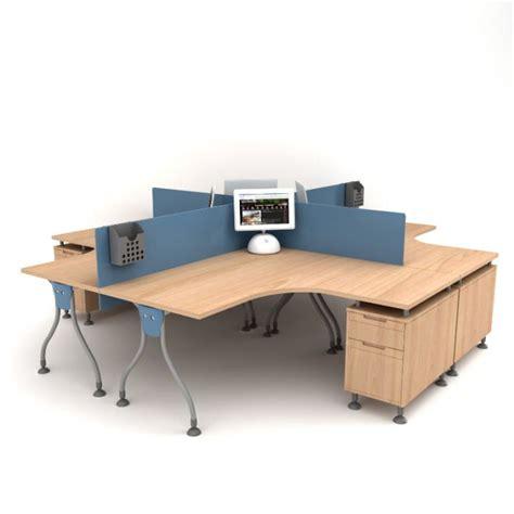 Desk 3d Model by Wooden Office Desk 3d Model Cgtrader