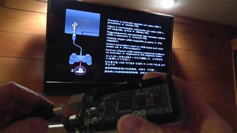 dyi arduino hack ps3 controller to bypass ps3 set up