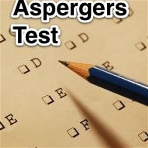 test sindrome asperger aspergers