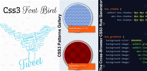 pattern rule generator css3 patterns gallery font bird and cross browser css3