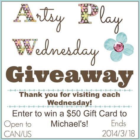 Michaels Gift Card - sands alive and michaels gift card giveaway