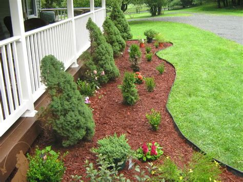 Successful Backyard Landscaping Ideas For Front Of House Landscape Backyard Ideas