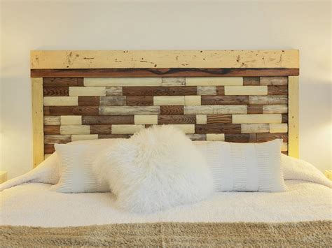 how to make your own wood headboard 35 modern furniture diys inspired by ellen s design
