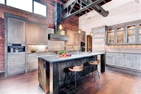 industrial style kitchen island kitchen stencil ideas pictures tips from hgtv hgtv