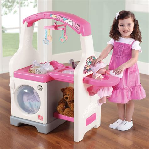 Step2 Deluxe Nursery Center Bj S Wholesale Club Baby Doll Changing Table And Care Center