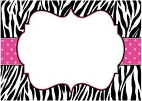 free printable pink zebra invitations pinterest the world s catalog of ideas