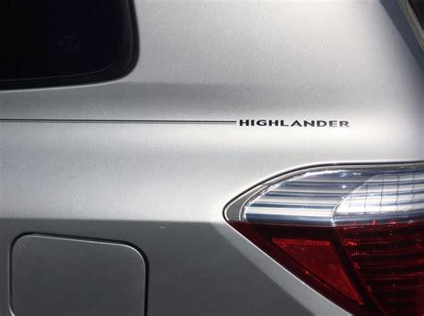 Toyota Highlander Logo Violassi Striping Company Toyota Highlander Logo Emblem