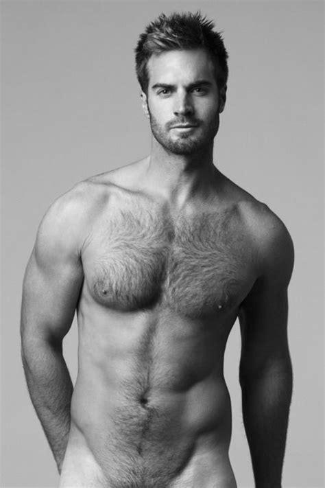 Black hairy chest