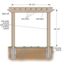 Hop Trellis Ideas How To Build A Backyard Pergola Sunset