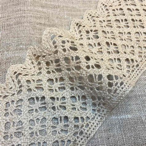 Lace Trim Lace linen crochet lace trim