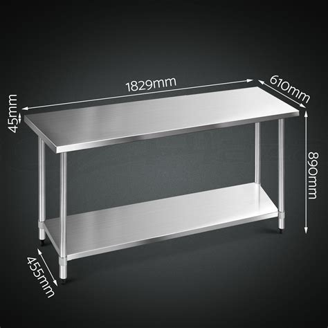 stainless steel bench top 304 430 commercial stainless steel kitchen work bench top