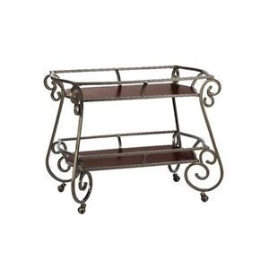 dining room serving cart beverage rolling tea serving cart display table drink bar