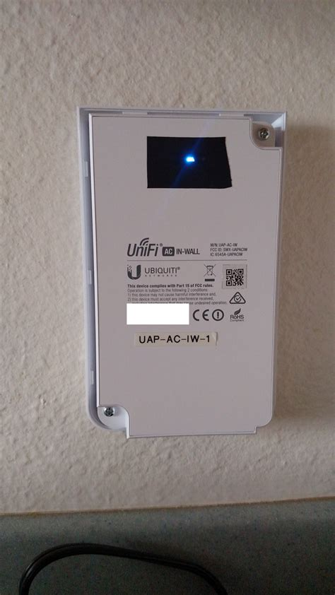 Ubiquity Unifi Ap In Wall Uap Iw solved anyone experience with ubiquity in wall wi