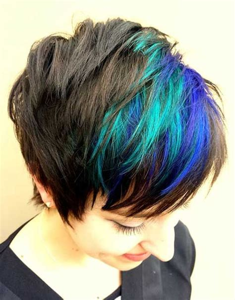 ways to dye short hair 25 best ideas about short blue hair on pinterest short