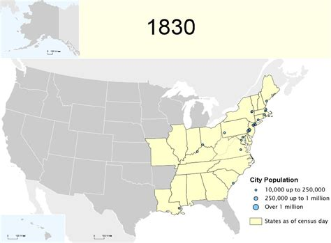 map of the united states in 1830 1830 u s federal census tutorial barry ewellgenealogy