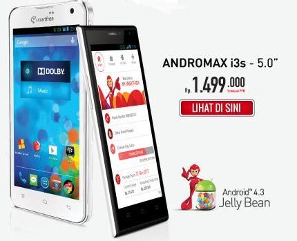 Baterai Hp Smartfren I3 dreamersradio canggihnya ponsel andromax i3 dan