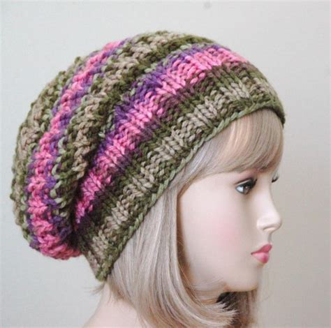 knitting pattern slouchy hat slouchy hats tag hats