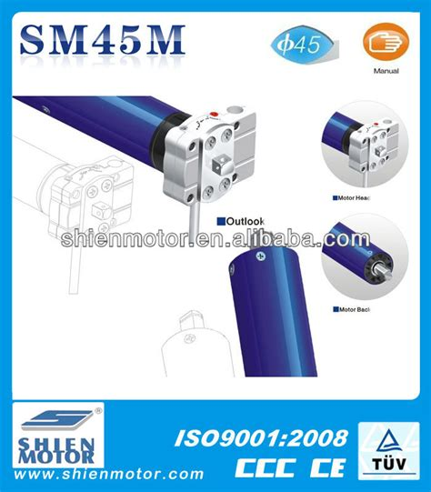 Somfy Awning Manual 45mm Manual Electric Awning Tubular Motor Small Clutch