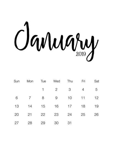 fabulous   printable  minimalistic calendar  wydrukowania pisanie  planer