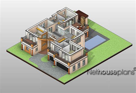 home design 3d double story t433d nethouseplans