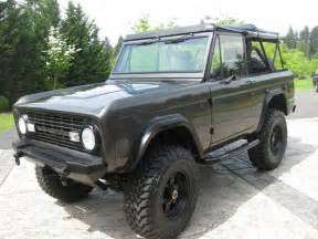 1970 ford bronco vehicular