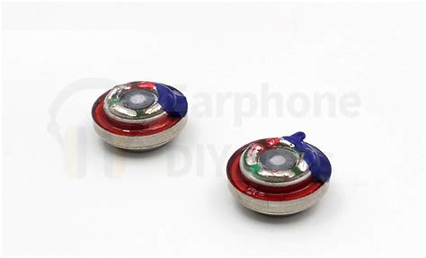 Earphone Bass 10mm Driver 1 1 pair 2 pieces 10mm dual magnetic bass in ear earphone driver earphone diy labs