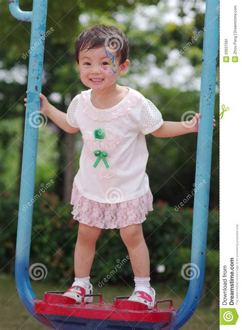 chinese swing chinese girl playing on a swing stock image image 20937581