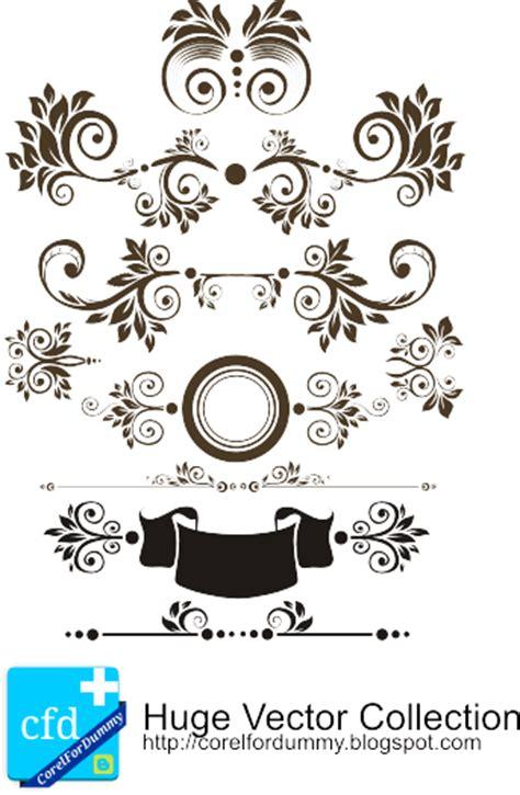 corel draw pdf vector design ornament vector corel draw tutorial and free vectors