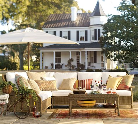 pottery barn house saybrook outdoor furniture collection