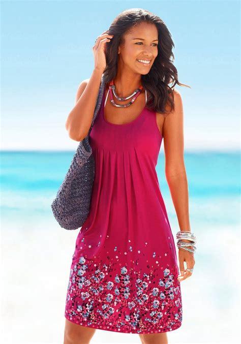 mini young models foto beachtime strandkleid mit blumenprint kaufen otto