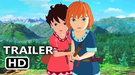 studio ghibli film trailer ronja the robber s daughter official trailer 2017