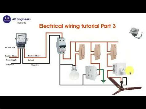 electrical wiring tutorial hindi part  switchboard