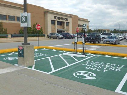 Electric Vehicle Charging Stations Baltimore King Of Prussia Mall Opens Electric Car Charging Stations