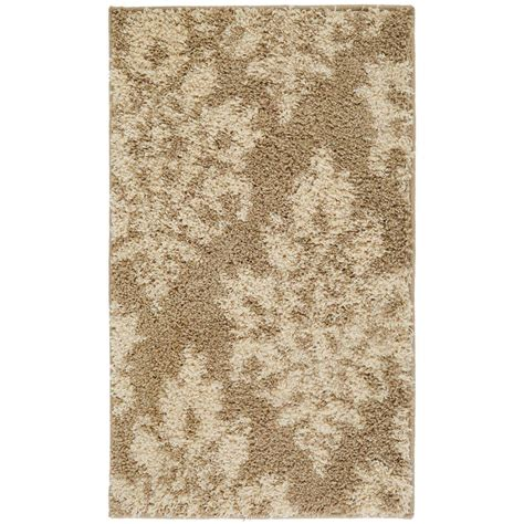 damask bathroom rug home decorators collection meadow damask neutral 7 ft 10