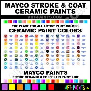 mayco colors basketball stroke and coat ceramic paints sc 80