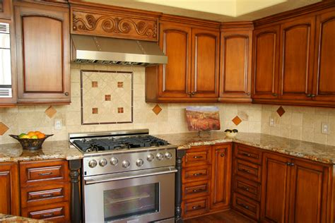 Tile In Kitchen Hegle Tile Kitchens Tile Backsplash Medallions And