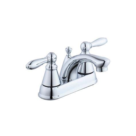 Glacier Bay 2500 Series 4 In Centerset 2 Handle Bathroom Glacier Bay Bathroom Faucets