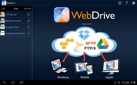 drive app android webdrive app for android review