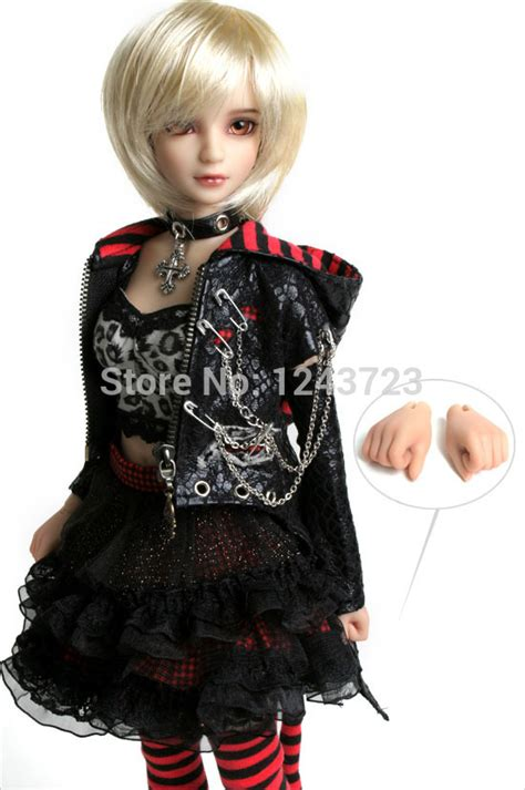 Boneka Bjd 1 4 Set As In Picture free shipping 1 4 42 5cm mini bjd doll birthday gifts