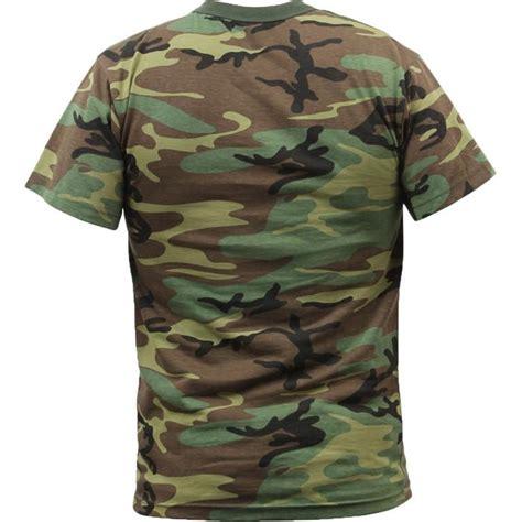 Kaosbajut Shirt Navy Militer Army woodland camouflage t shirt army navy store