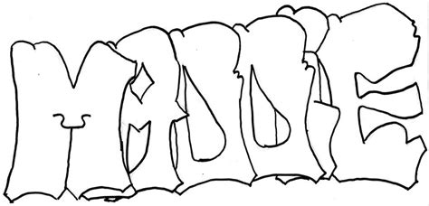 printable coloring pages with names free graffiti names coloring pages
