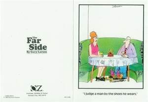 gary larson far side greeting card i judge a usa 1983 ebay