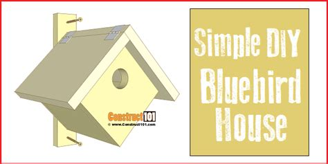 bluebird house plans pdf simple bluebird house pdf download construct101