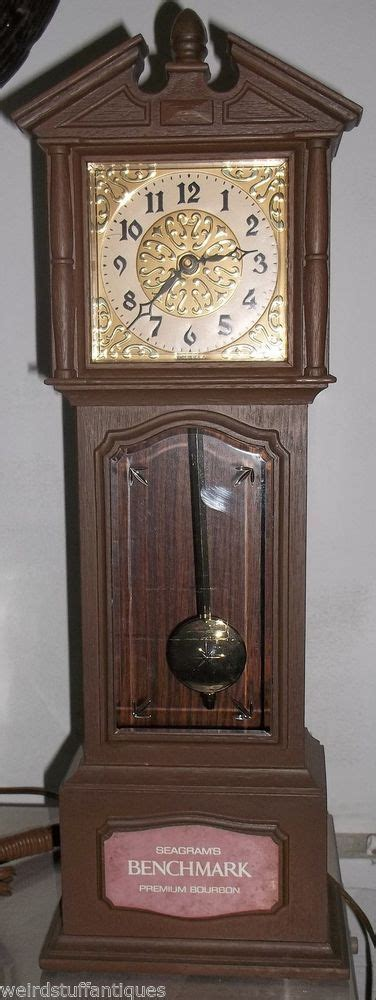 table top grandfather clock seagram s benchmark premium whiskey small grandfather