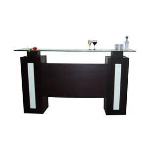 home bar counter sharelle furnishings elite w barcounter wenge elite