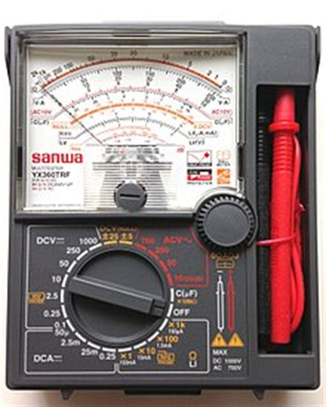 Multitester Sanwa Yx360trf multimeter