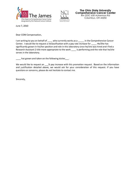Sle Justification Letter Employment Best Photos Of Exle Of Justification Position Justification Letter Sle