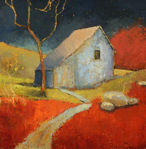 The Barn Westport Hardinart Fine Art Painter Abstract And Semi Abstract