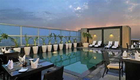 top restaurant gurgaon lodging country inn suites gurgaon rooftop barbecue