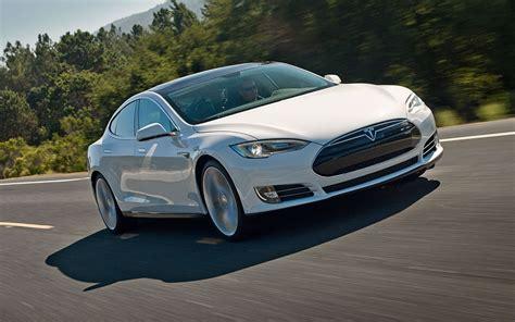 2014 Tesla Model S Range 2014 Tesla Model S P85 Front Photo White Color Size